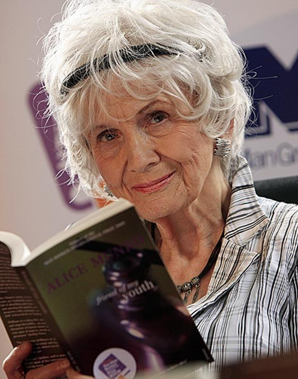 Alice Munro,  Fotoğraf: AFP/Getty Images