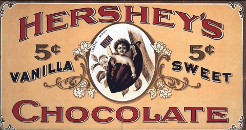 Thumbnail image for  A visual history of Hershey's chocolate