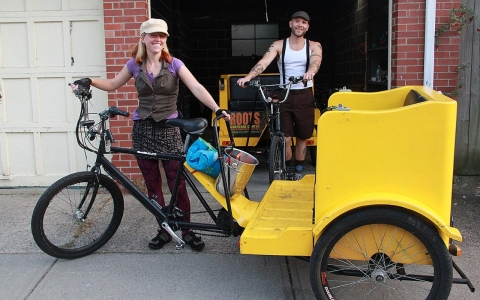 Thumbnail image for Pedicabs ride toward a sharing economy
