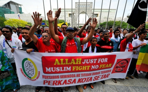 Thumbnail image for Malaysian court bans use of 'Allah' by non-Muslims