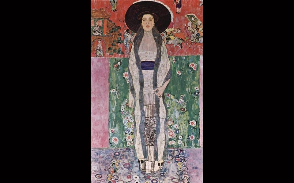 London's National Gallery hosts Klimt portrait seized by ... Klimt Adele Bloch Bauer Ii
