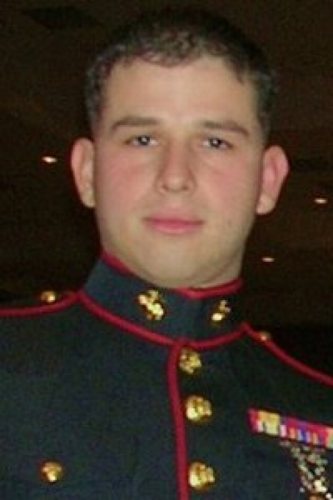 Thomas Bagosy at the Marine Corps Birthday Ball in 2007.