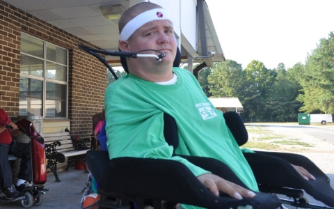 Paul Boyd is one of many young people with disabilities who are living in nursing homes across the U.S.