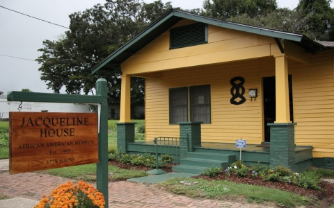The Jacqueline House, a treasure trove of African-American history in Vicksburg, Miss.