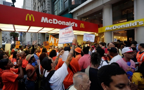 Thumbnail image for McDonald's advises employee to apply for food stamps