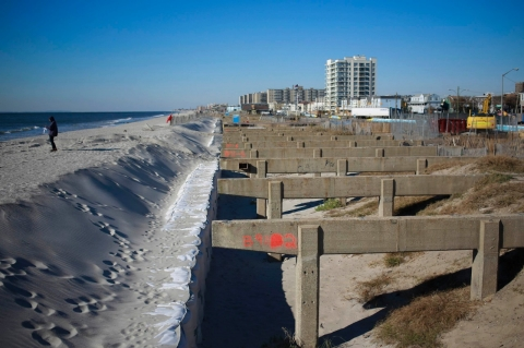 Rockaways boardwalk