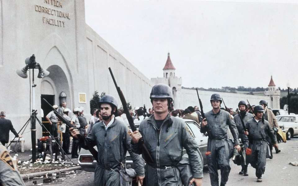 Image result for inmates seize control of attica prison in new york