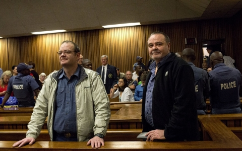 Thumbnail image for South Africa sentences 20 white supremacists after 10-year trial