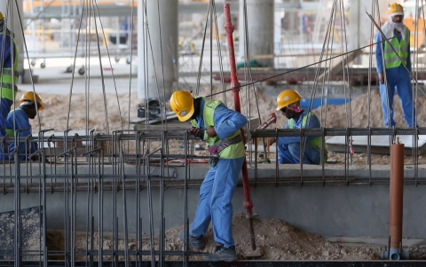 Thumbnail image for Qatar under the spotlight for workers' rights