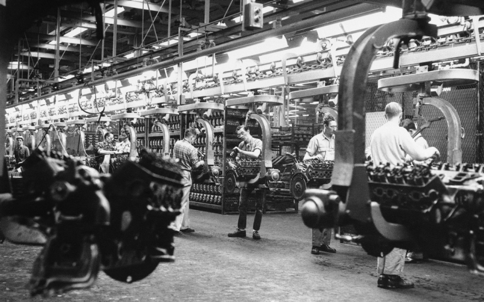 Ford Marks 100 Years Of Assembly Line Production Al