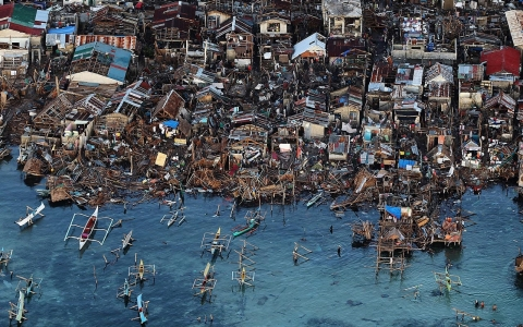 Thumbnail image for Typhoon Haiyan highlights global cost of climate change