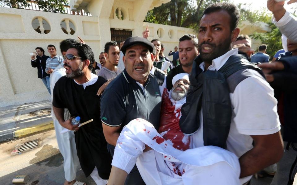 Anti Militia Protest Turns Deadly In Libya Al Jazeera