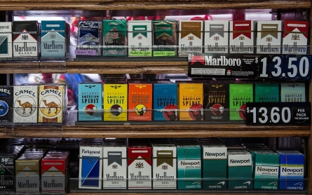 New York City bans tobacco sales to people under age 21