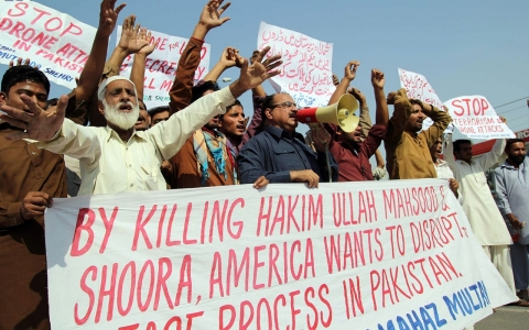 Thumbnail image for Pakistan officials accuse US of sabotaging Taliban peace talks