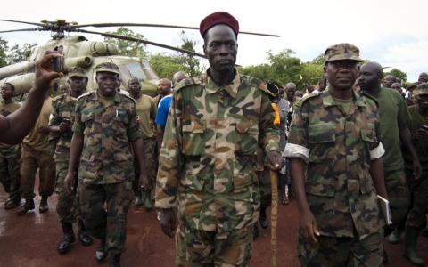 Thumbnail image for Central African Republic held surrender talks with warlord Joseph Kony