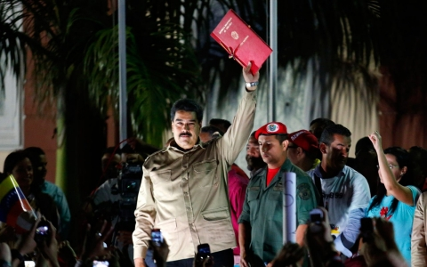 Thumbnail image for Venezuelan president granted power to rule by decree