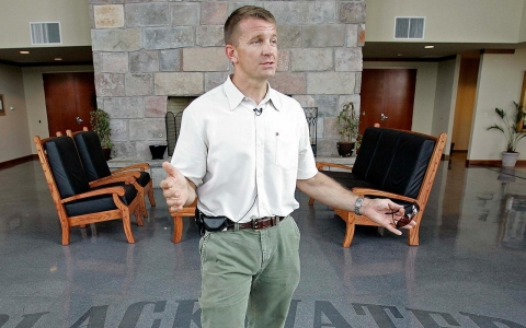 Erik Prince, the former CEO of Blackwater USA