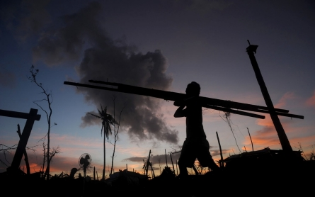 Weeks after typhoon, massive recovery takes shape in Philippines