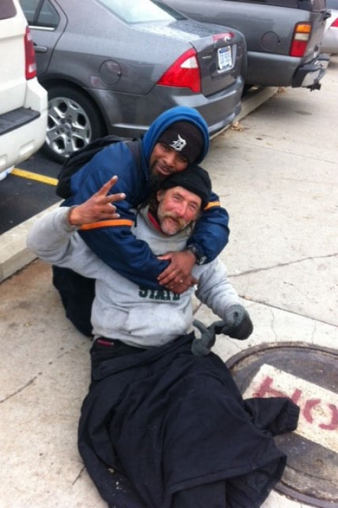 Detroit, homeless, police, suburbs,