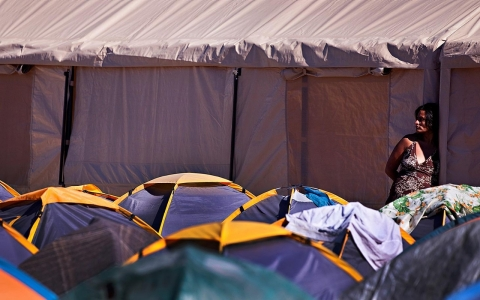 Thumbnail image for Tijuana's tent city shelters deported immigrants