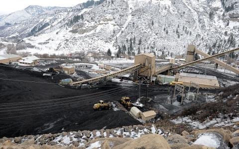 The Oxbow Coal Mine, in Somerset, Colorado has been one of the nation's most productive coal mines since 2003.