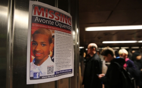 Avonte Oquendo, 14, has been missing since he went out of a side door at his school on Oct. 4.