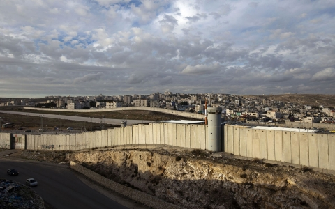 Thumbnail image for Israel reportedly proposes separation wall as Palestinian border
