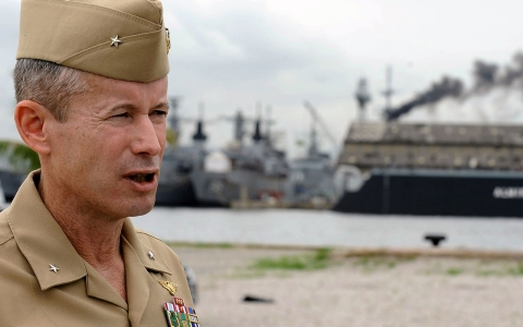 Thumbnail image for Navy admirals reprimanded in widening bribery scandal