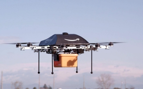 Thumbnail image for Amazon plans to deliver packages using drones