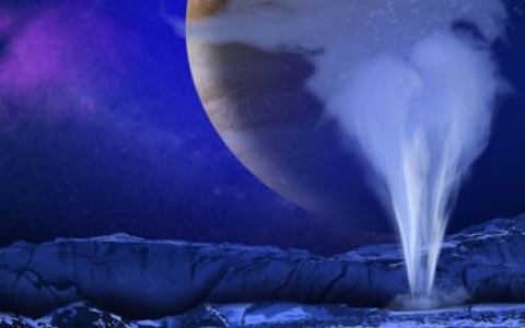 Thumbnail image for Scientists find water plumes shooting off Jupiter moon
