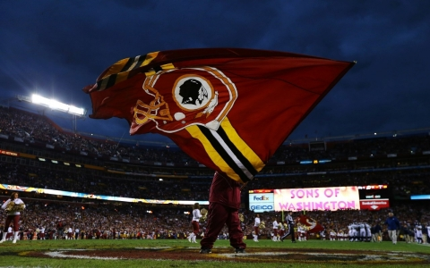 Thumbnail image for School's Redskins team mascot  faces ban by Houston board