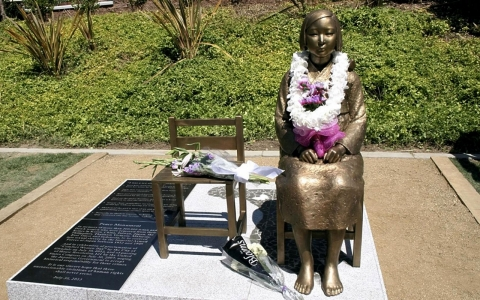 Thumbnail image for Japanese lawmakers demand removal of California World War II memorial