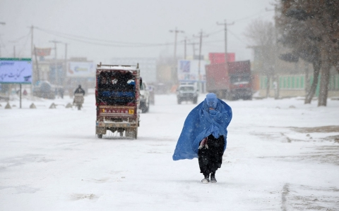 Thumbnail image for Afghan president calls for vote delay, citing potential of 'heavy snow'