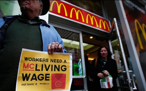Thumbnail image for The Year in Labor: Fast-food workers lead a new working class