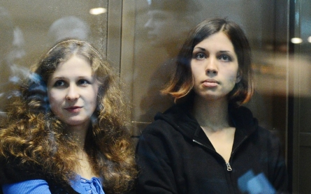 Pussy Riot band members freed in Russia under amnesty