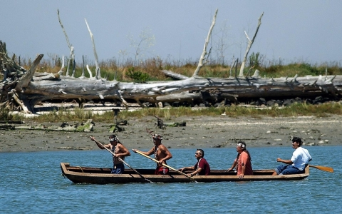 The Wiyot tribe is set to renew its place on Indian Island, which it called home until 1860.