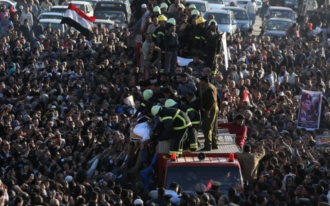 Thumbnail image for Egypt labels Brotherhood 'terrorist' as riots follow deadly bombing