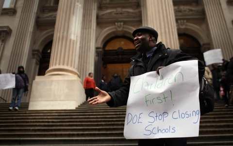 Charter school backers are worried about the future of such institutions under Mayor-elect Bill de Blasio.