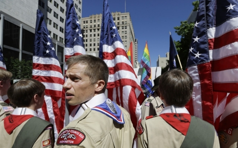 Thumbnail image for Boy Scouts to accept openly gay youth starting in January