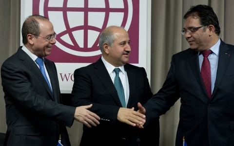 Thumbnail image for 'Historic' water deal signed by Israel, Jordan and Palestinians