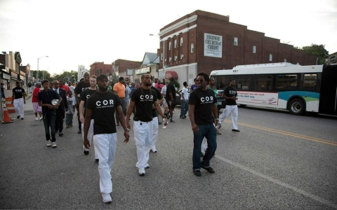 Thumbnail image for 300 Men March takes on street violence in Baltimore