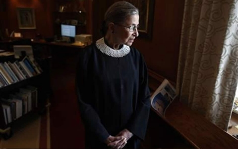 Thumbnail image for Supreme Court Justice Ginsburg not surprised by push for voter ID laws
