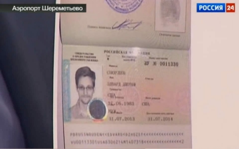 Edward Snowden,30, has been granted asylum in Russia