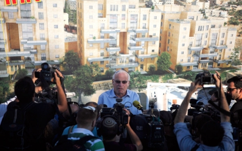 Israel settlements Palestine peace talks