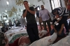 Egyptians mourn over the bodies of their relatives in the El-Iman mosque at Nasr City, Cairo, Egypt on Thursday.