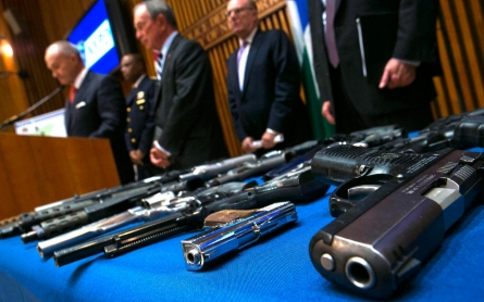 NYC police make 'largest-ever gun bust'