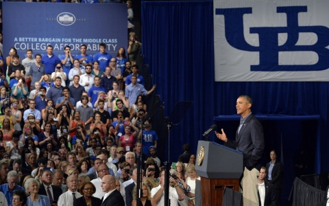 Thumbnail image for Obama unveils broad plan to tackle rising college costs