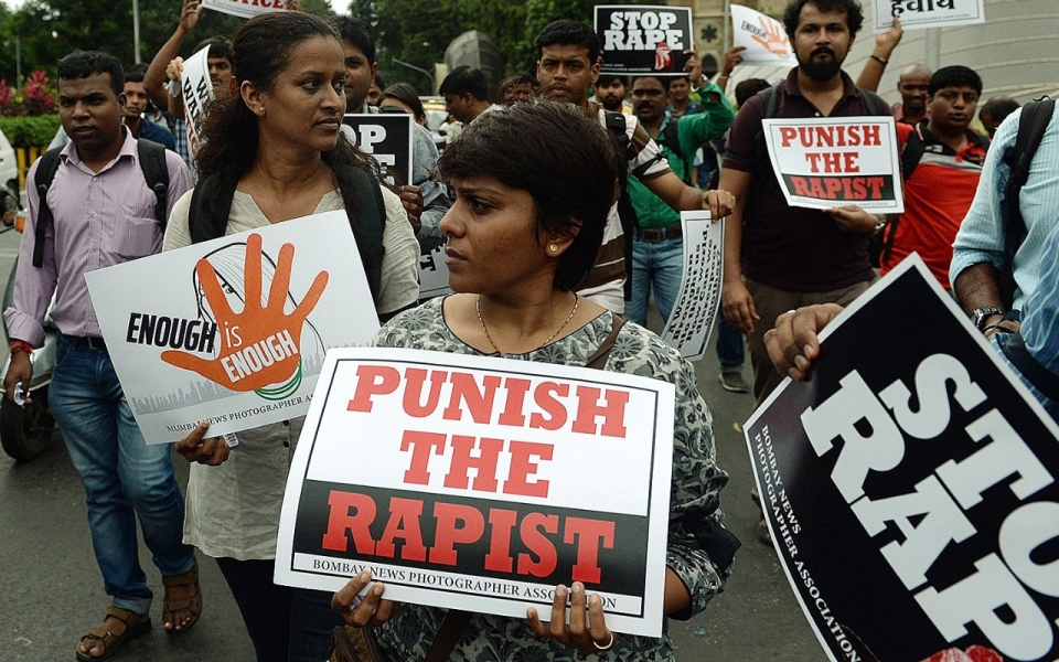 Image result for rape placard gif
