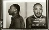 Martin Luther King Jr.'s mugshot on April 12, 1963, following his arrest.