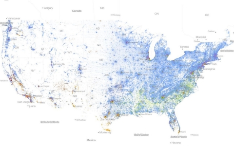 Thumbnail image for Map: America still divided by race